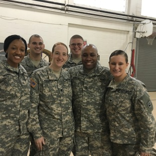 Soldiers of the 125th QM