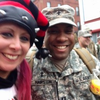 One of our biggest supporters, Mistress Carrie of WAAF. She is amzaing!
