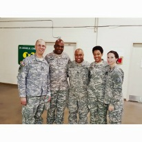 The 151 RSG Brigade and Battalion Unit Ministry Teams with the Senior Army Chaplain