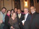 After my ordination to the Baptist Minisrty. My seminary friends and I celebrating!