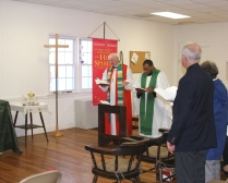 1st Episcopal Visit of the Rt. Rev'd William Murdoch of the Anglican Diocese of New England.