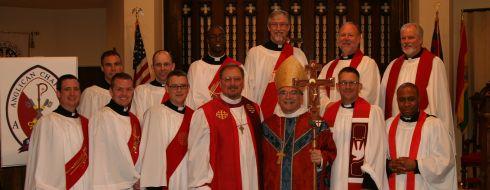 Ordination to the Priesthood, presided by The Most Revd Robert Duncan, The Rt. Revd Derek Jones, and The Rt. Revd David Bena.