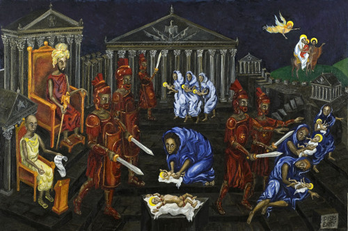 Alexey Pismenny. Massacre of the Holy Innocents