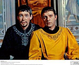 O'Toole (L) and Burton (R)