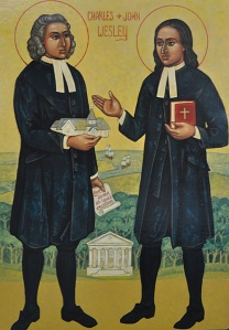 Frs. John and Charles Wesley